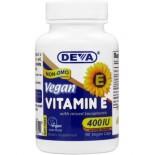 [Deva]  Vitamin E 400 IU - Vegan