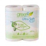 [Green 2]  Ultra Soft Bath Tissue, 300 Sheets