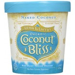 [Luna & Larrys Coconut Bliss] Coconut Milk Ice Cream Naked Coconut  At least 95% Organic