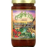 [Organicville] Salsas Medium  At least 95% Organic