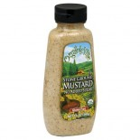 [Organicville] Condiments Mustard, Stone Ground  At least 95% Organic
