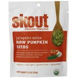 [Skout] Raw Pumpkin Seeds Jalapeno Salsa  At least 95% Organic