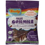 [Tasty Brand] Organic Gummy Snacks Super Fruit, Peg Bag In Caddy  At least 95% Organic