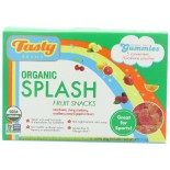 [Tasty Brand] Organic Gummy Snacks Sport Fruit, Shelf Box  At least 95% Organic