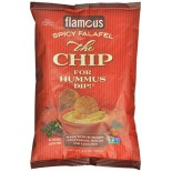 [Flamous] The Chip for Hummus Dip Spicy Falafel