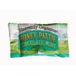 [Heavenly Organics] Natural Candy Raw Honey Pattie, Mint