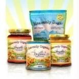 [Heavenly Organics] Natural Candy Raw Honey Pattie, Pomegranate Choc