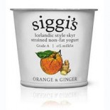 [Siggis] Skyr Icelandic Style Strained Non-Fat Yogurt Orange & Ginger