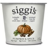 [Siggis] Skyr Icelandic Style Strained Low Fat Yogurt Pumpkin & Spice, 2%