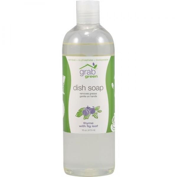[Grab Green] Liquid Dish Soap Thyme with Fig Leaf
