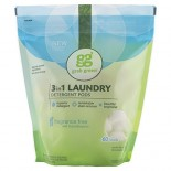 [Grab Green] 3-1 Laundry Detergent Laundry Detergent, Big Pouch, Fragrance Free