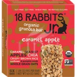 [18 Rabbits] Granola Bars Caramel Apple  At least 95% Organic
