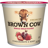 [Brown Cow Yogurt] Cream Top Yogurt Pomegranate & Berry