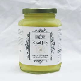 100% Pure Fresh Royal Jelly - 12oz